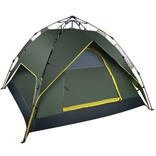 Tent Camping 3 Season 3 Person Waterproof Beach Outdoor Storage Travel Portable #Toogh #Beach