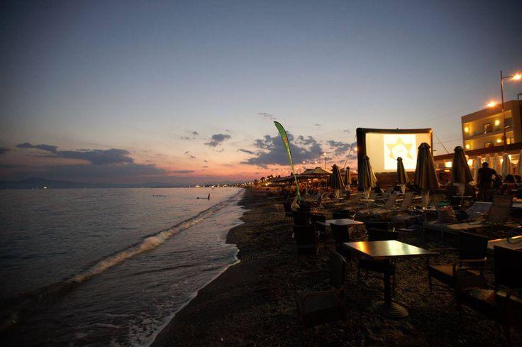 Elite City Resort open air #cinema at #Kalamata