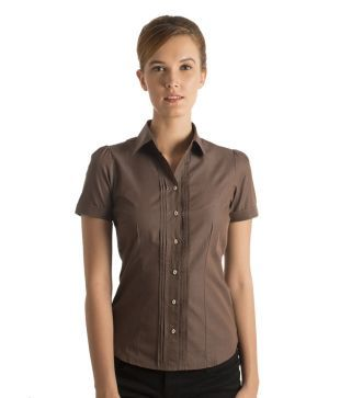 Bombay High Brown Cotton Shirts