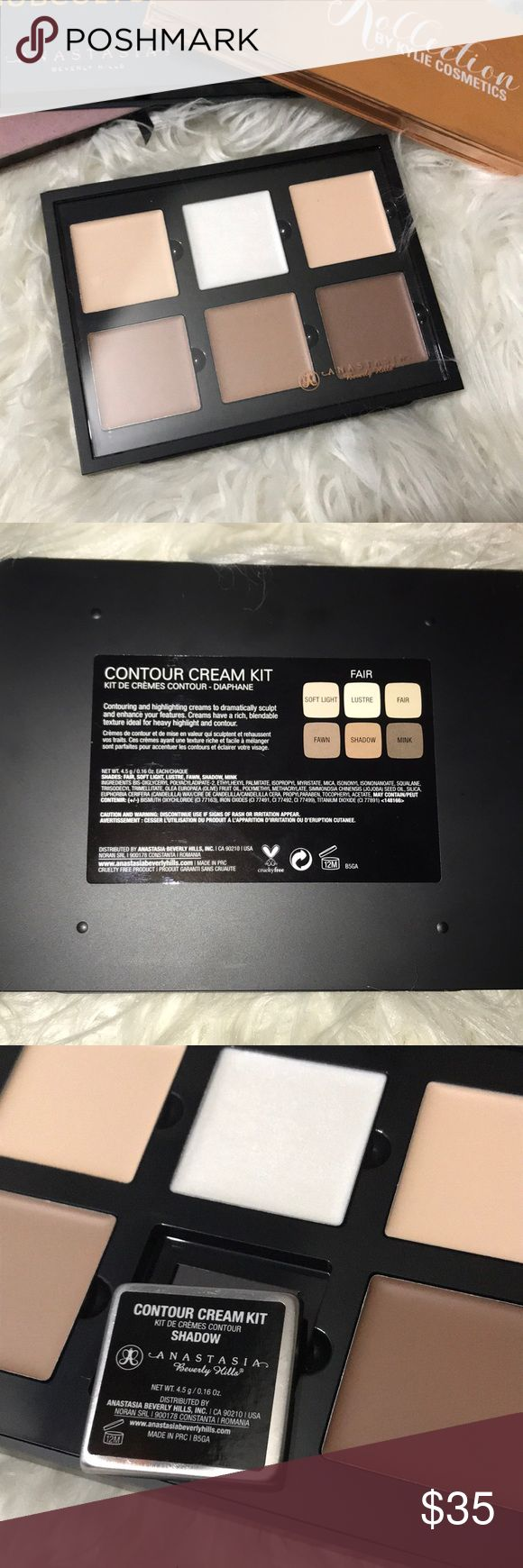 Anastasia Beverly Hills Cream Contour Palette-Fair Brand new AUTHENTIC ABH cream contour kit. Purchased at Marshall's and got the wrong color. In the shade FAIR Anastasia Beverly Hills Makeup