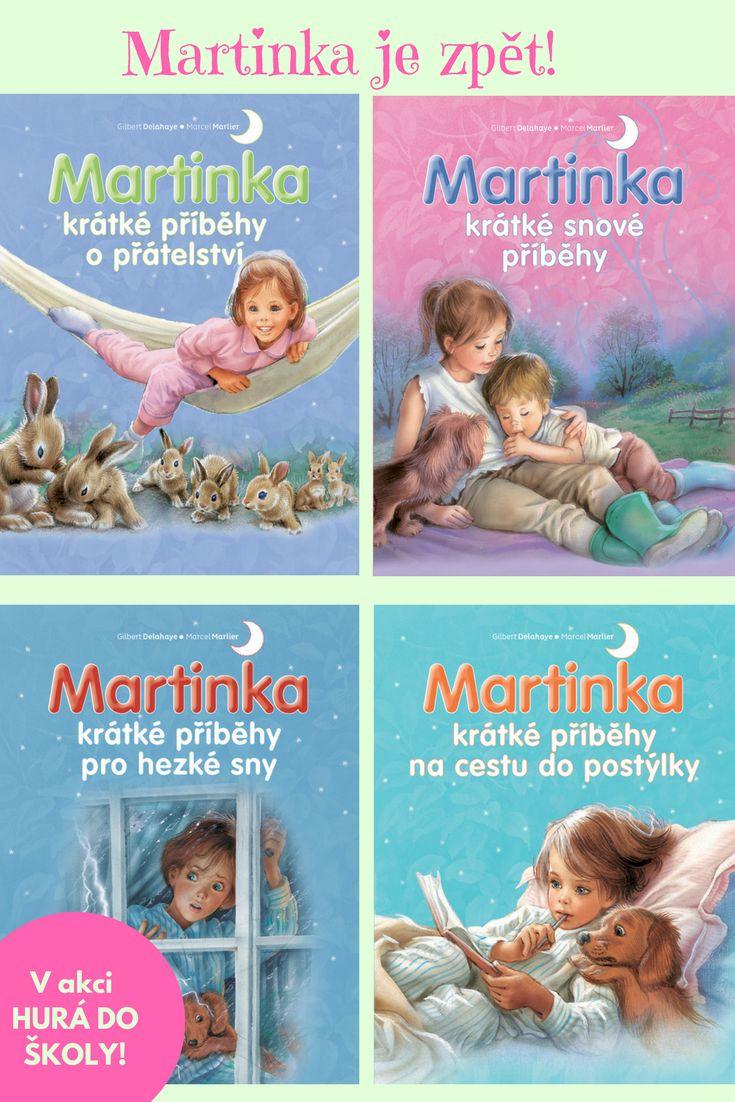 Spousta krátkých příběhů s šikovnou Martinkou a jejími kamarády. Zaposlouchejte se nebo se začtěte, nová dobrodružství už čekají! #pohadka #pribehy #martinka #holky #cteni #dobrounoc #deti #kniha