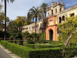 Siviglia, Spagna. Il Real Alcazar, uno dei Palazzi in uso più antichi del mondo.