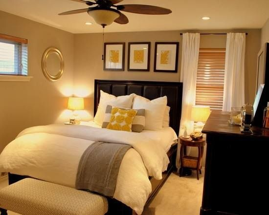 Small and cozy Master bedroom