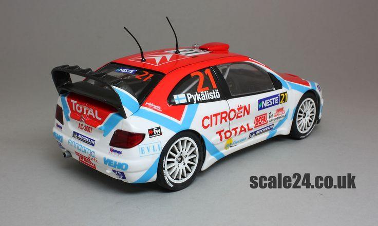 2004 Rally Finland, #21 Jusso Pykalisto, Heller #80769, Renaissance TK24/20