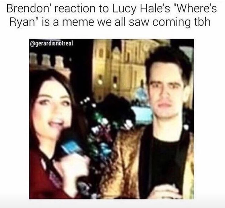"""I watched this and DIED his face was the best thing EVER!! He was totally drunk too. """"I need some new underwear. Mom and dad if you watching this!"""" -Brendon Urie when asked what his New Years Resolution was. I don't even know anymore."""