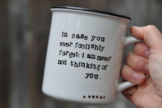 Long distance boyfriend gift long distance gift for boyfriend girlfriend gift anniversary gift long distance love gift for husband mug