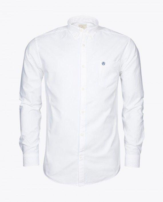 Hvid Oxford Skjorte Fra Selected Homme