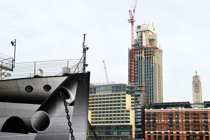 "5 | World War One-Era Ships Redone In ""Dazzle Camouflage"" | Co.Design | business + design"