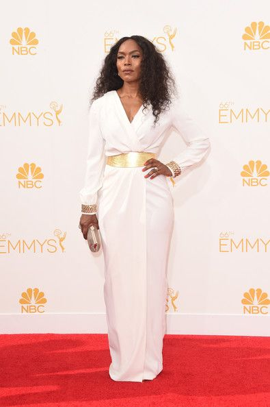Angela Bassett Photos Photos - Actress Angela Bassett attends the 66th Annual Primetime Emmy Awards held at Nokia Theatre L.A. Live on August 25, 2014 in Los Angeles, California. - Arrivals at the 66th Annual Primetime Emmy Awards — Part 2