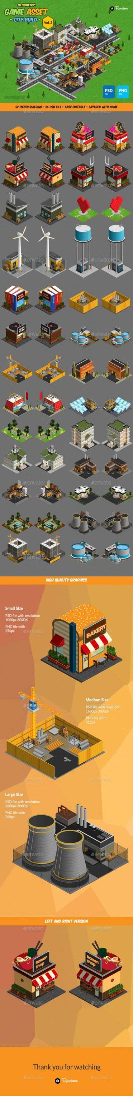 New isometric games art building design reference ideas – Nail Game