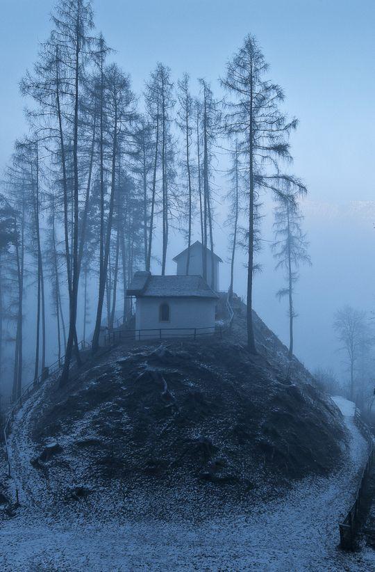 Church on a hill / Rietz, Tyrol - Austria