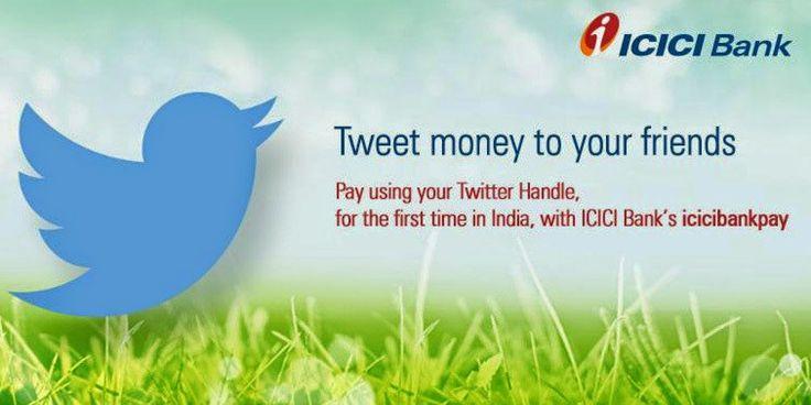 ICICI Tweet Money