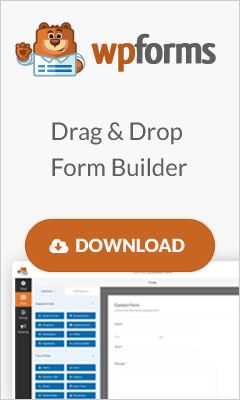The Most Beginner Friendly WordPress Contact Form Plugin in the Market  Build Online Forms in minutes, not hours  Building forms in WordPress can be hard. WPForms makes it easy.  Our intuitive drag & drop WordPress form builder allows you to create contact forms, online surveys, donation forms, and more in just a few minutes without writing any code.