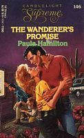 In the Texas oil fields, maverick and numbers maven get mixed up together. The Wanderer's Promise by Paula Hamilton
