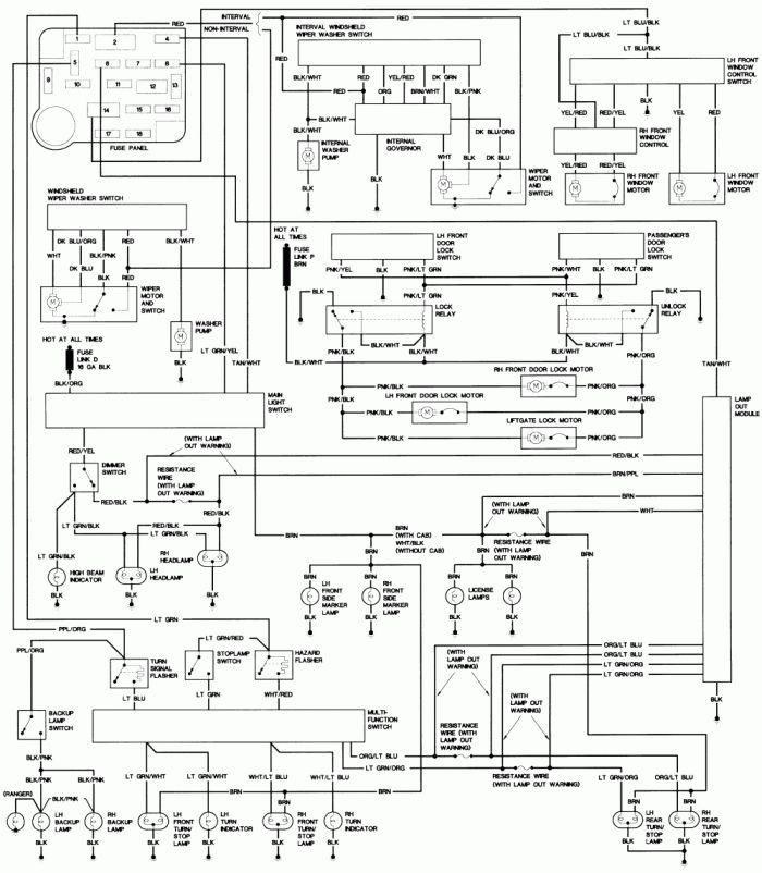 16 Auto Zone Wiring Diagram Ford F150 Ford Truck Steering Column