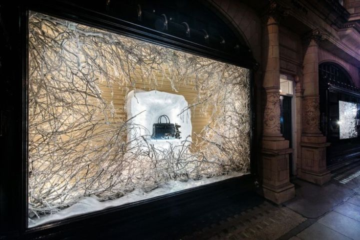 Asprey Christmas windows by Millington Associates