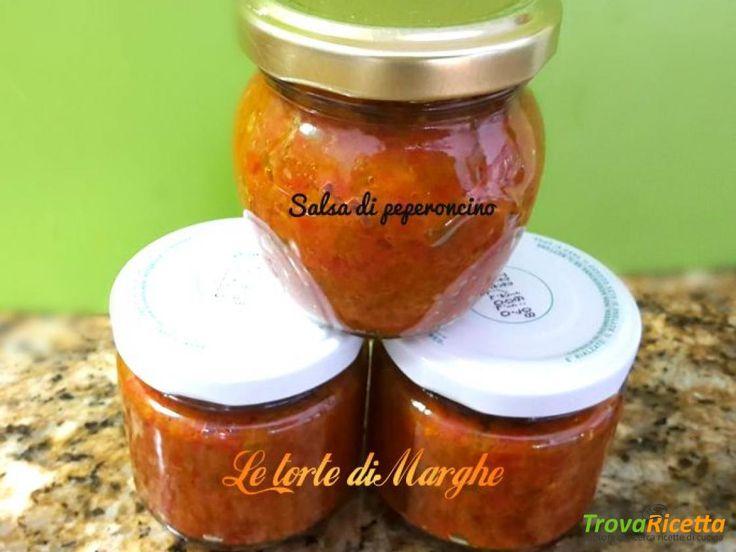 Salsa piccante di peperoncini  -ricetta veloce-  #ricette #food #recipes
