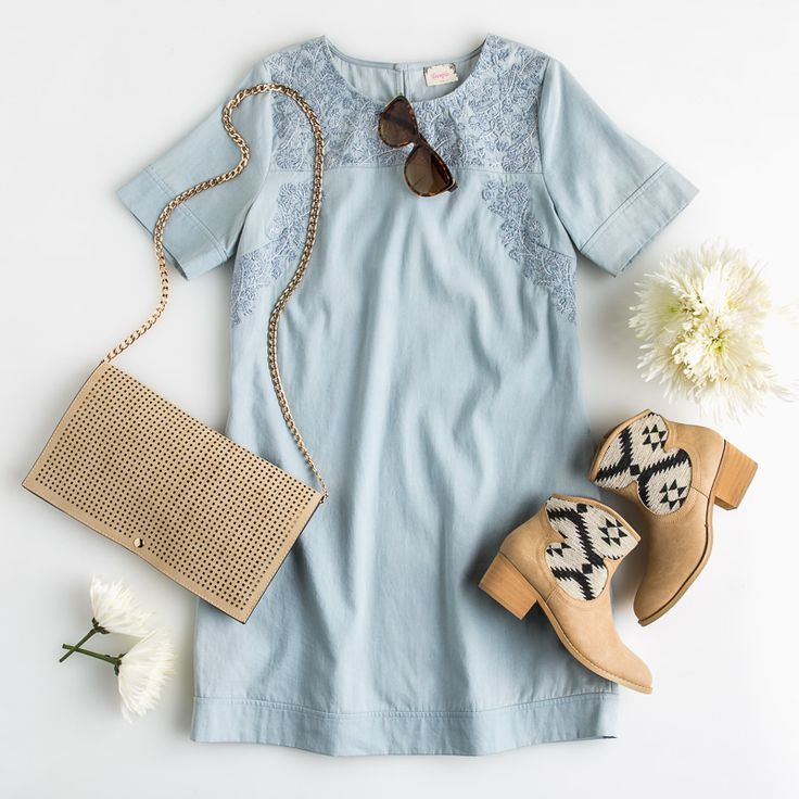 Neutral Chambray Outfit