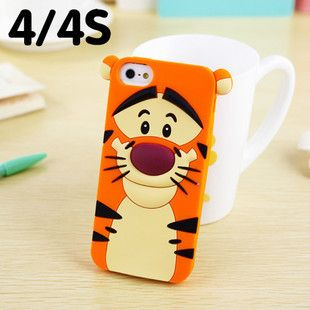 New Cute 3D Cartoon Monster university Sulley Marie Alice Cat slinky dog Tiger Case Back Cover Soft Case For iphone 5 5G 5S