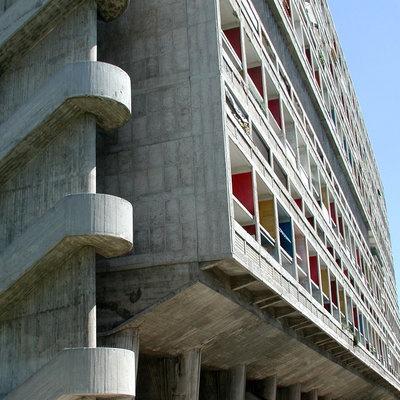 L'hôtel Le Corbusier et la Cité Radieuse