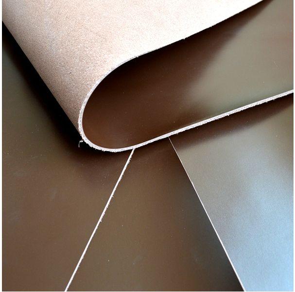 28*19 см/11*7 дюймов первый лэ Smooth темно-коричневая кожа коровы DIY материал-11*7 дюйм(ов)