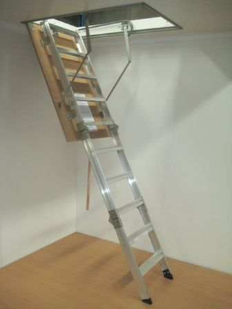 pull-down ladder for roof space storage                                                                                                                                                                                 More