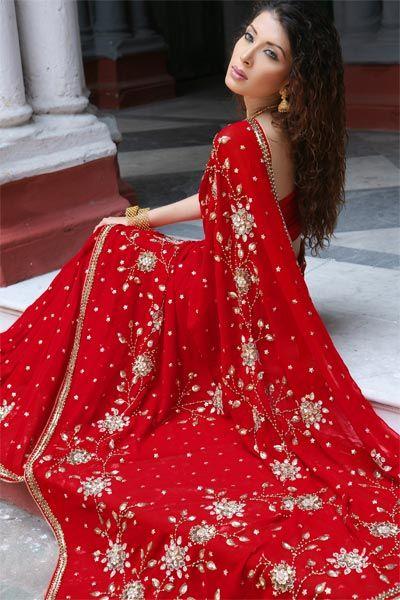 Beautiful Sarees For GIRLS