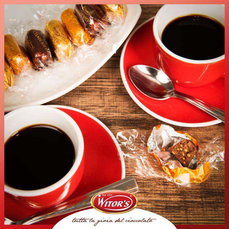 La pausa caffè è un momento sacro, ma un gianduiotto Witor's dopo il caffè è un piacere divino! Con chi vorresti prendere un caffè oggi? Tagga i tuoi amici!