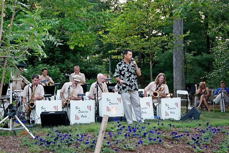 Just Jazzing (not shown in picture) is performing on the Jurney Stage Garden at the EJC Arboretum at JMU. Don't miss a 20 piece band performing for picnics or barefoot lawn dancers! Free parking in Convo G and R-5 on the JMU campus near the arboretum. Music beings at 11:30 am. May 24. Saturday