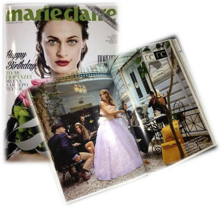 Nene Fashion photoshooting for Marie Claire magazine styling by Christi Pvg