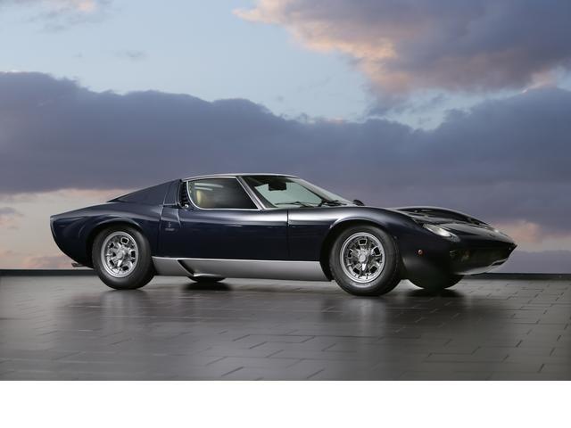 Factory restored under the supervision of Valentino Balboni,1968  Lamborghini  Miura P400  Chassis no. 3739