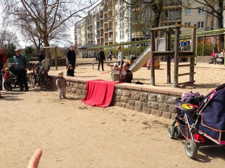 Spielplatz am Weinbergspark - Mitte