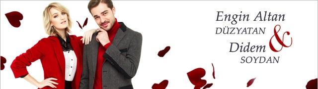 Engin Altan Düzyatan ve Didem Soydan Sevgililer Günü Kampanyası Markafoni'de 49,99 TL'den başlayan fiyatlarla! http://www.markafoni.com/product/engin-altan-duzyatan-ve-didem-soydan-0/erkek-pantolon/