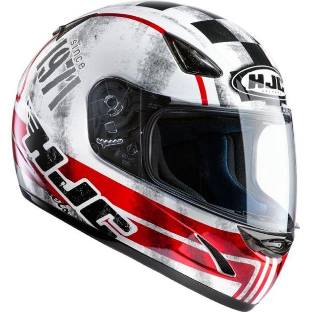 Casque intégral HJC CS-14 Check 71 Helmet 71 MC1 XS NEUF prix déstockage - ACCESSOIRE DE SPORT MOTO VELO SCOOTER/CASQUES - magic-affaires-22