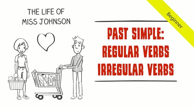 Follow the comical love life of Miss Johnson and give your students a revision on the past simple tense with regular and irregular verbs.