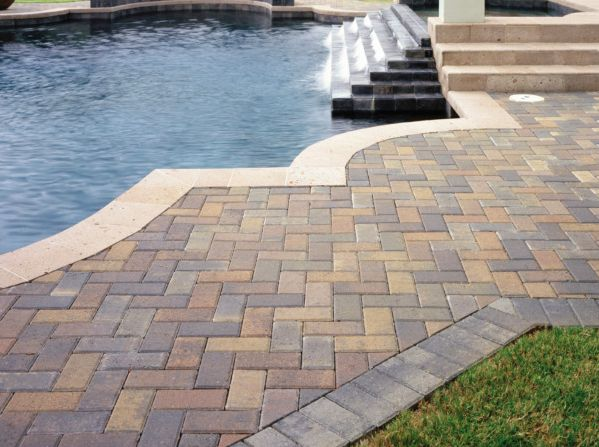 Pavestone #pavers are an extremely durable #hardscaping option which will last centuries. Would you like to install for your home? | Virginia | Irwin Stone