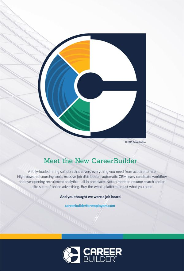 Noted: New Logo for CareerBuilder done In-house
