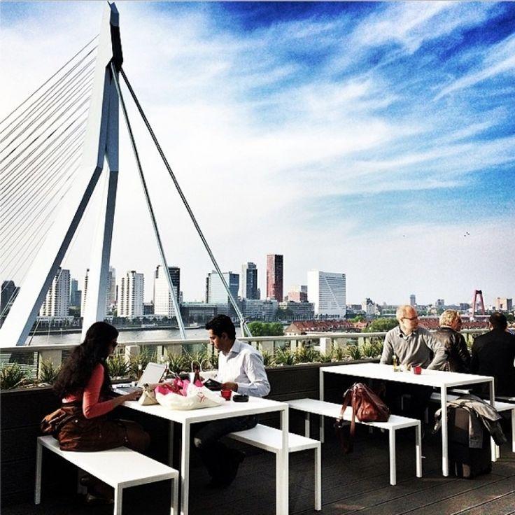 Nhow Rotterdam terras