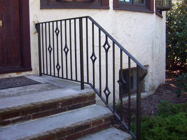 Exterior Handrail Designs Custom Inspiration Design