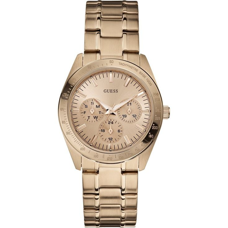 Guess Ladies MINI CHASE Rose Gold Watch
