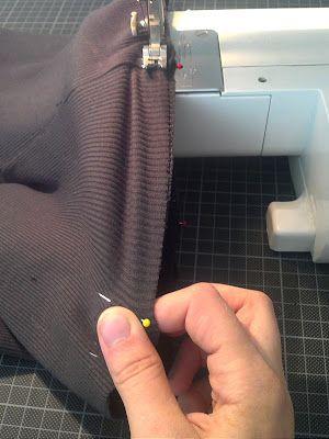 Bündchen annähen für Anfänger Blog Foto11