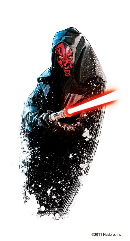 darth maul, so glad they didn't kill him off, although it was kind of improbable, but not impossible!; for him to survive