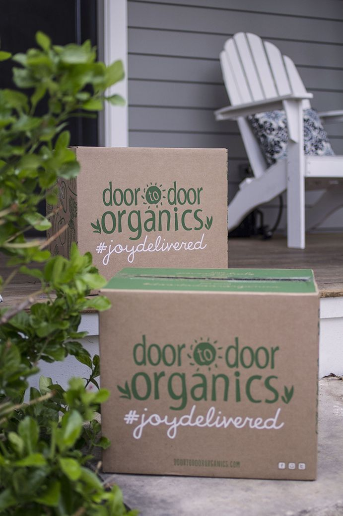 How Door to Door Organics' Online Grocery & Food Delivery Service Works