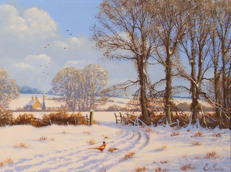 Edward Hersey - The Snowy Farm
