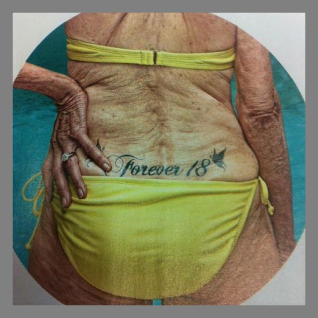 Nursing homes will be full of these some day.Tattoo Ideas, Piercing And Tattoo, Get A Tattoo, Funny Jokes, Forever18, Forever 18, Humor, Funniest Pictures, Ink