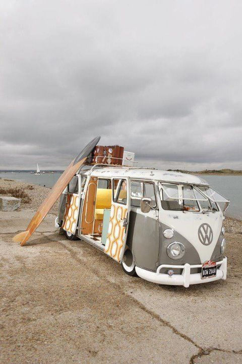 Wow interior! vw camper