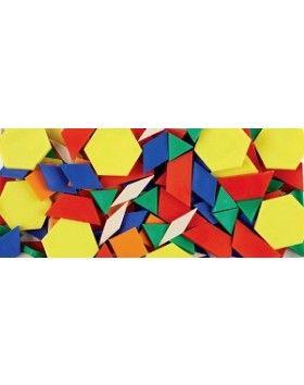 Hollow Plastic Pattern Blocks (250 pieces)