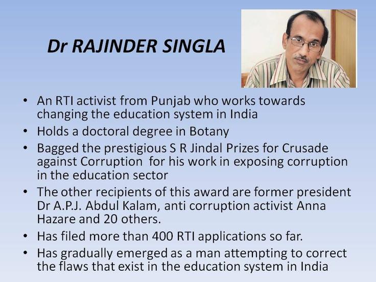 Rajinder Singla