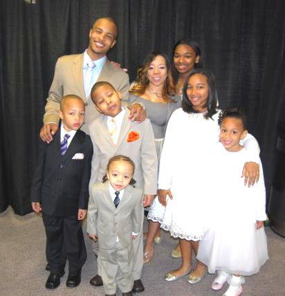 TI, wife and children.
