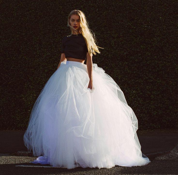 Marie in the Antoinette skirt. Available at www.kaygoss.com